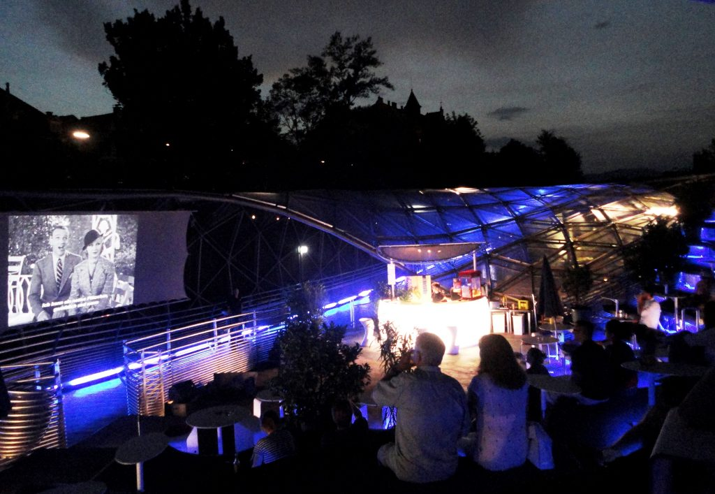 Events in Graz: Sommerkino Murinsel