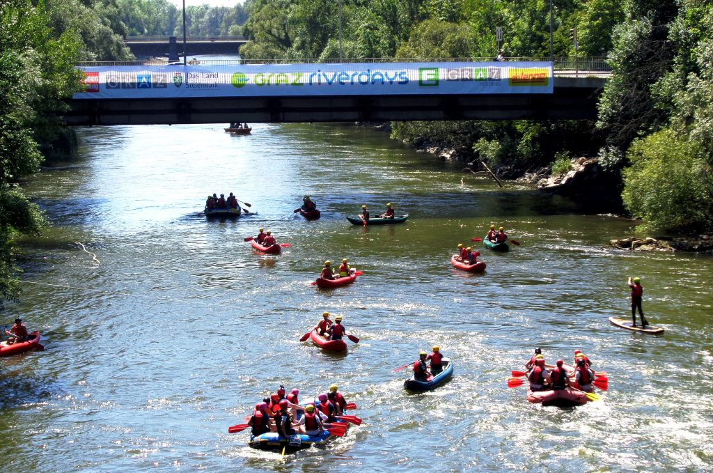 Events in Graz - Riverdays